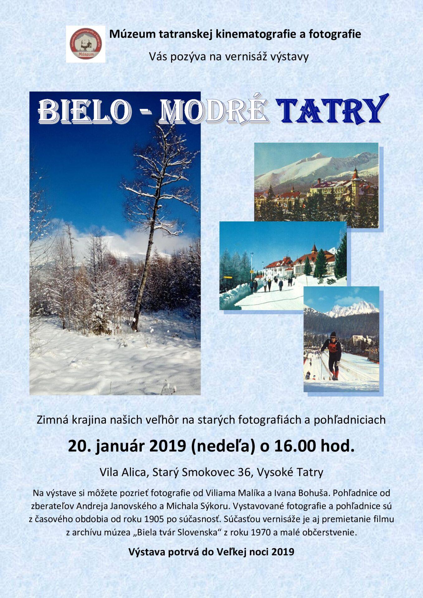 Bielo-modré Tatry