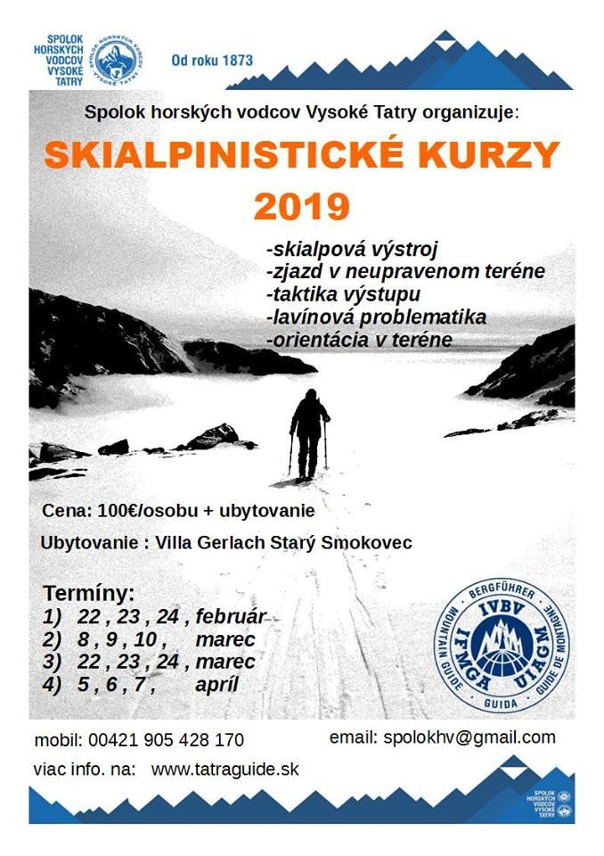 Skialpinistické kurzy 2019