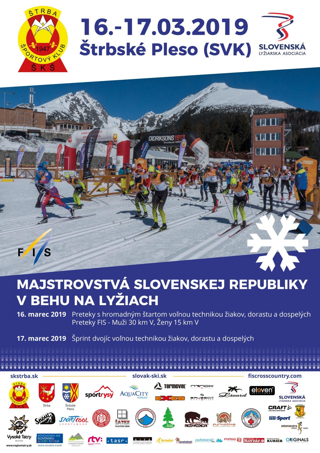 Majstrovstvá SR v behu na lyžiach