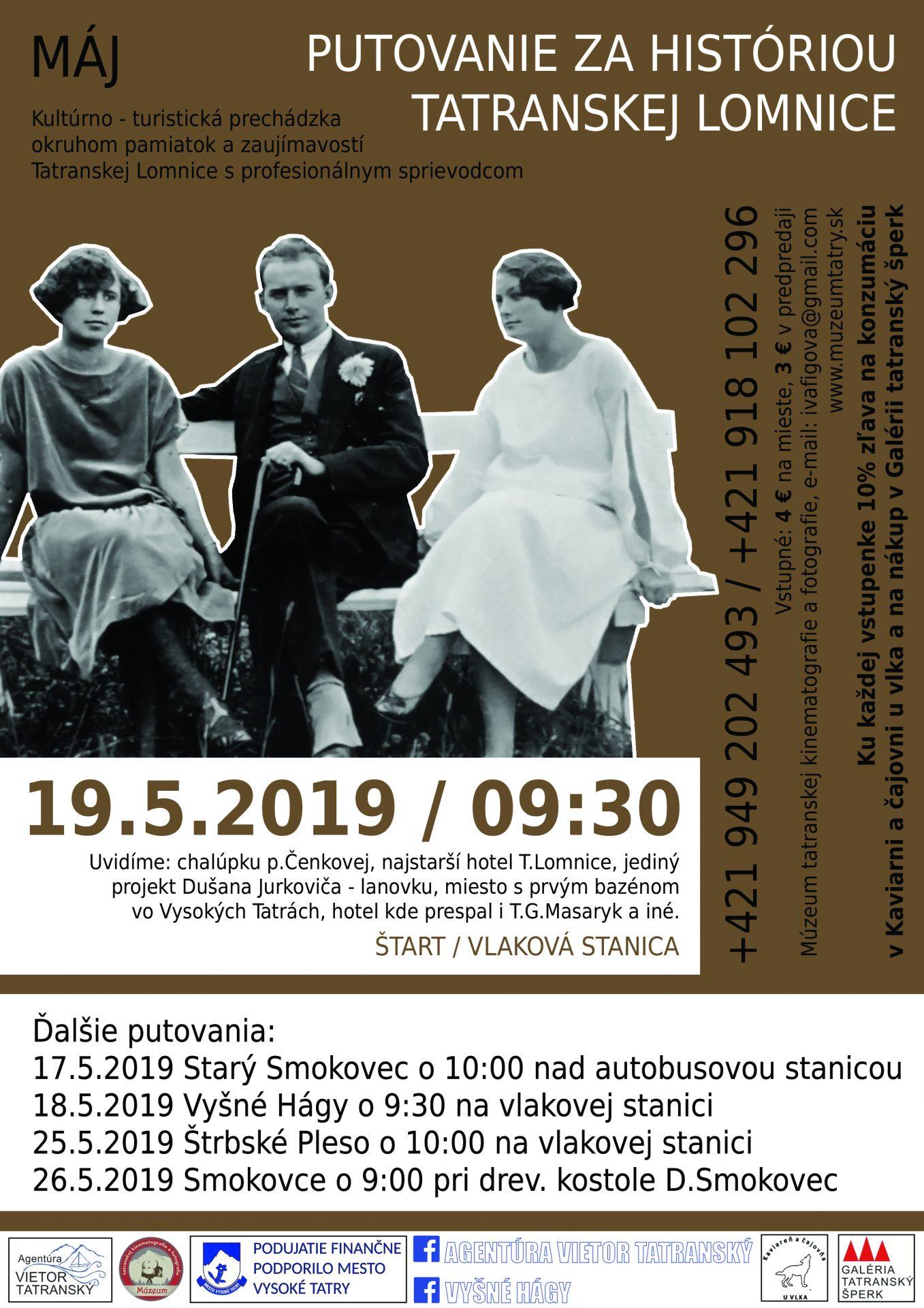 Putovanie za históriou a zaujímavosťami Tatranskej Lomnice