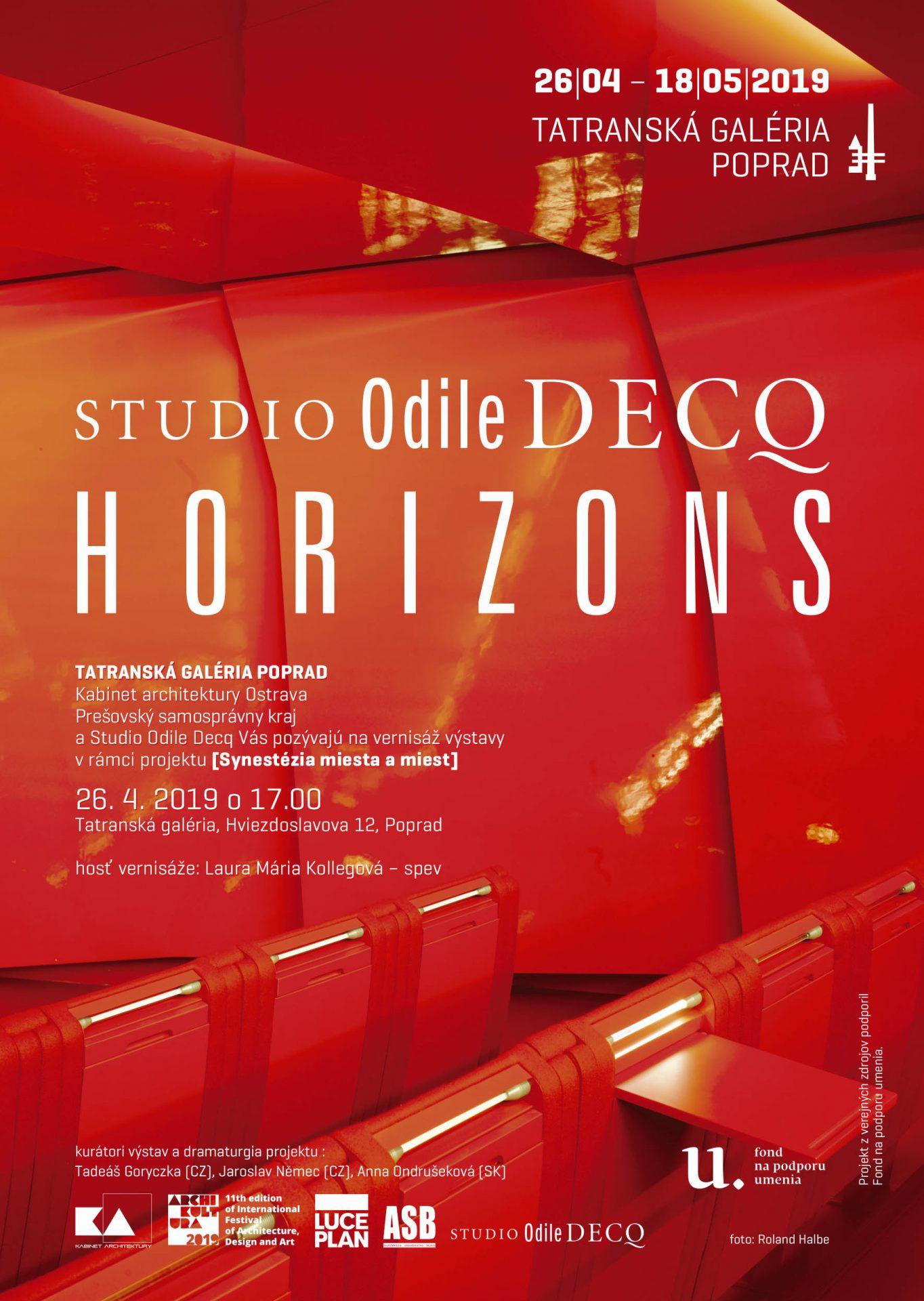 Odile Decq (1955) Horizonty (Horizons)