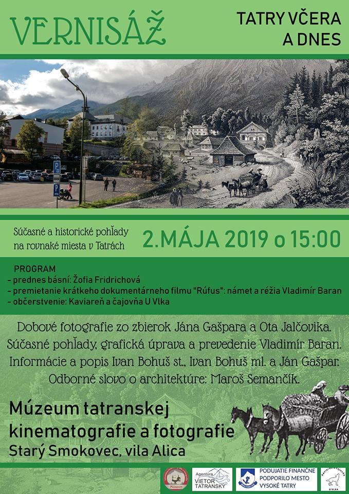 Tatry včera a dnes