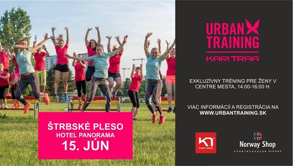 Urban training Štrbské Pleso