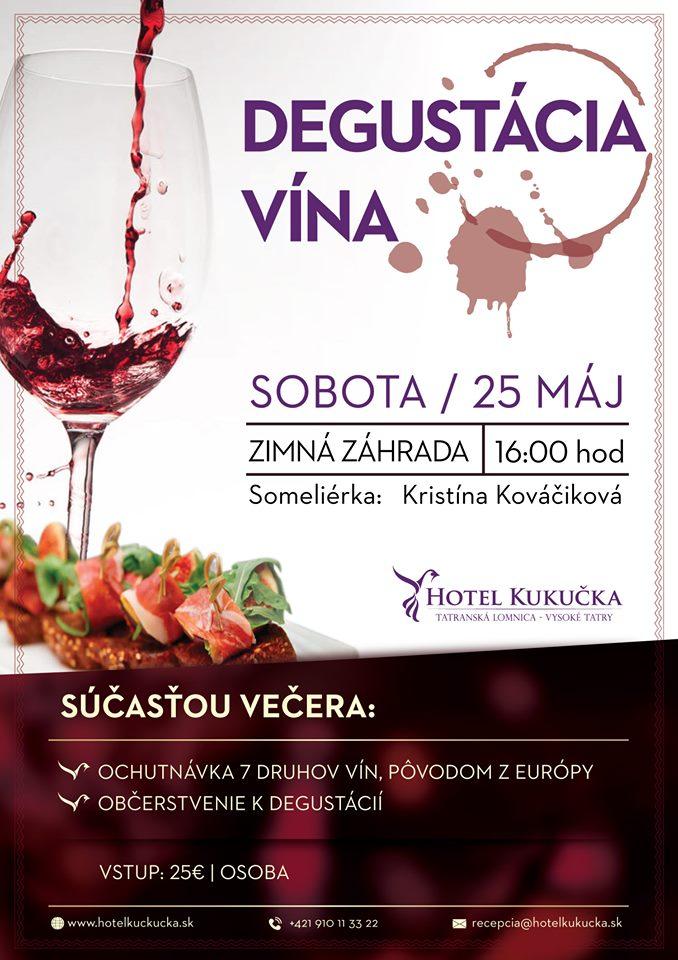 Degustácia vína