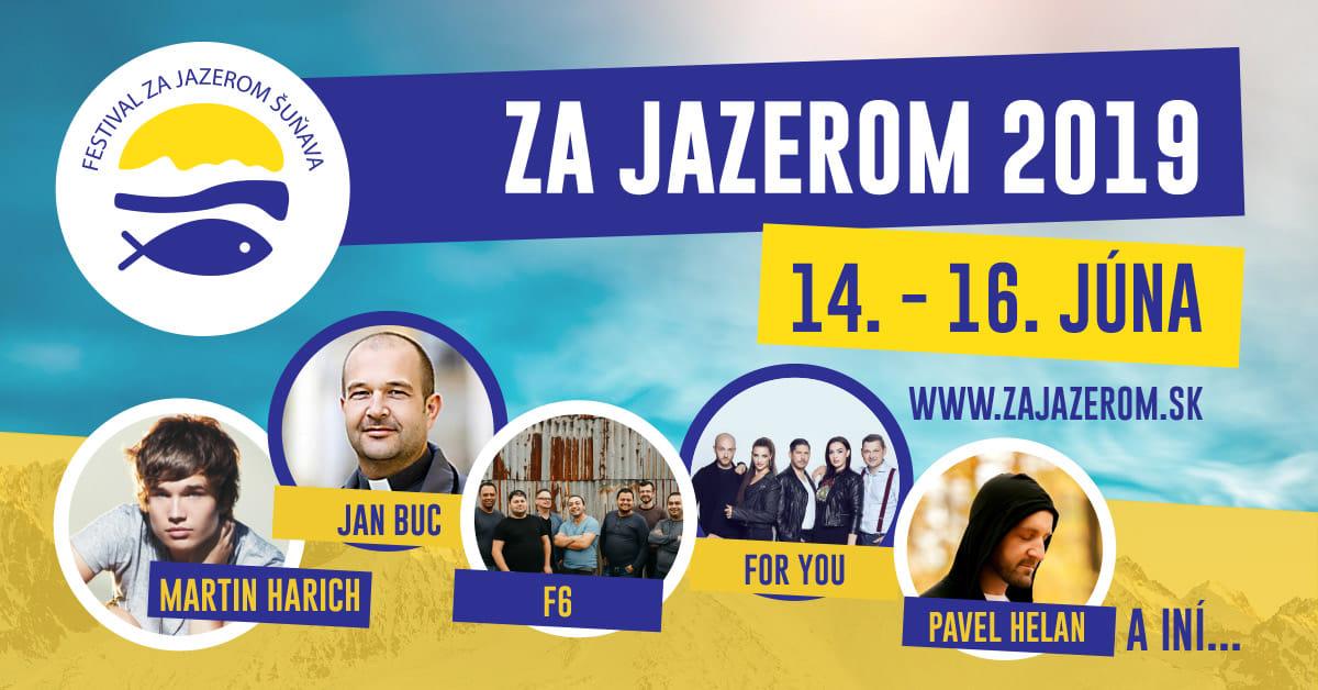 Piaty ročník gospelového festivalu ZA JAZEROM pozýva do Šuňavy!
