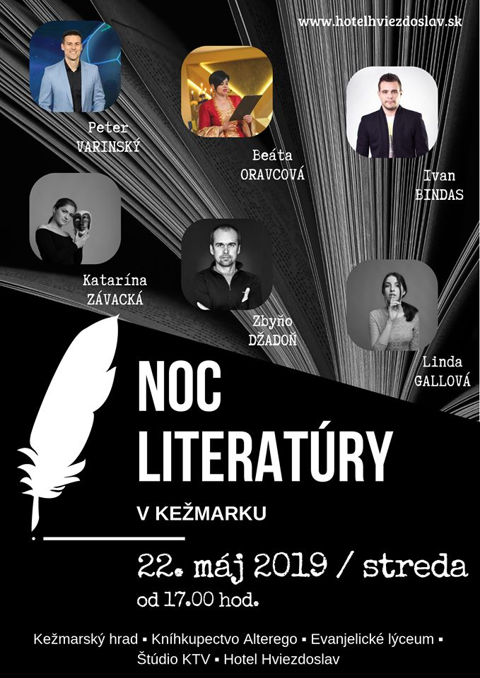 Noc literatúry v Kežmarku