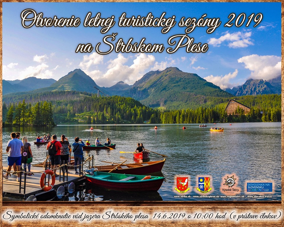 Odomknutie vôd jazera Štrbské Pleso – 2019