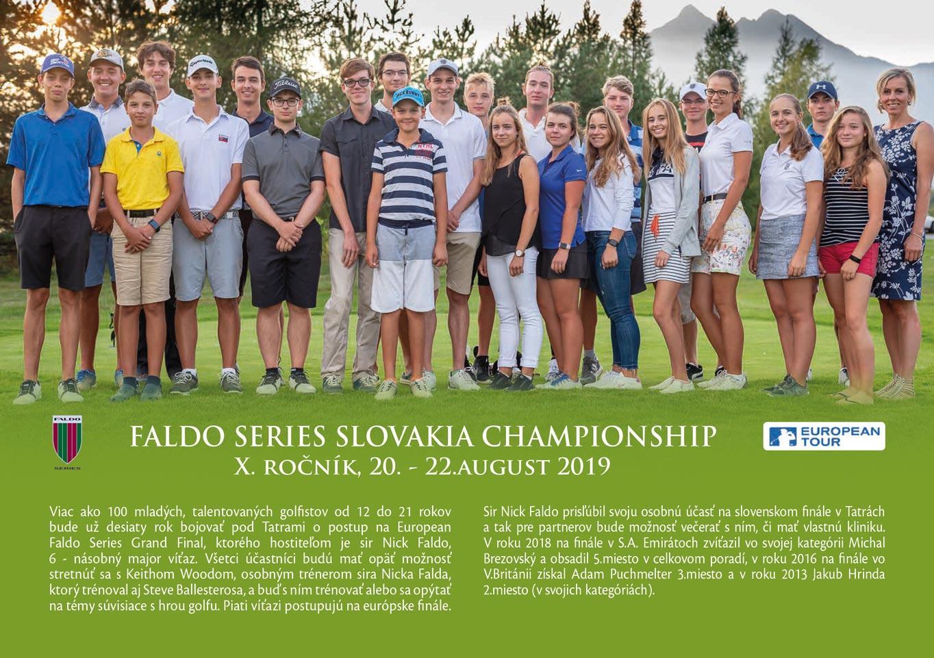Faldo series Slovakia Championship 2019