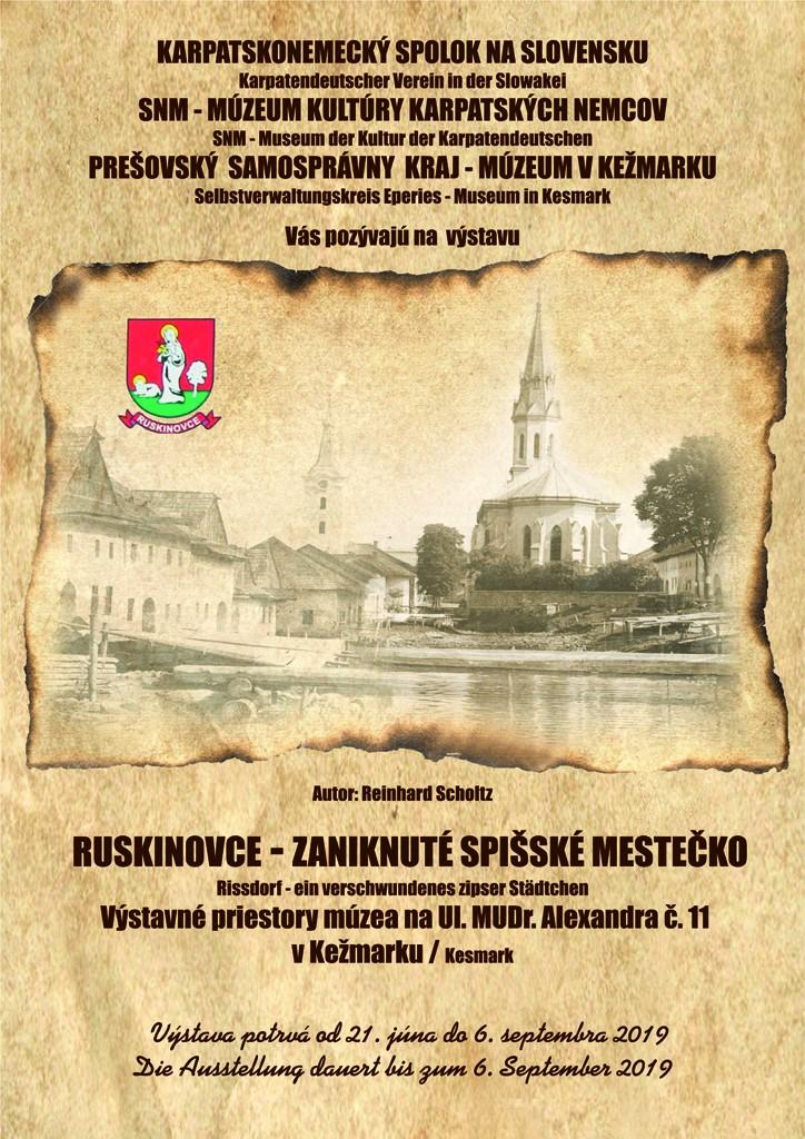 RUSKINOVCE zaniknuté spišské mestečko