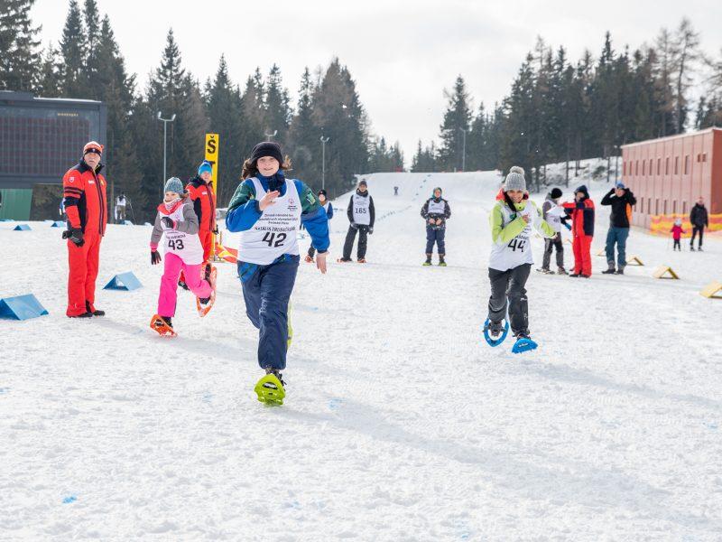 O beh na snežniciach mali športovci s intelektuálnym znevýhodnením najväčší záujem