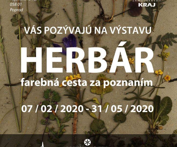 Plagát-Herbár-farebná-cesta-za-poznaním-Podtatranské-múzeum-v-Poprade-výstava-3