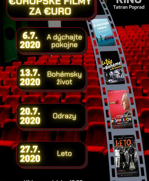 Europske filmy JUL