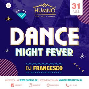 dance nigh fever humno tatry party