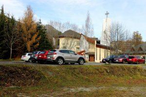 parkovisko novy smokovec tatry kostol