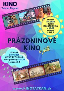 prazdninove kino deti film poprad