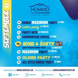 humno party lomnica