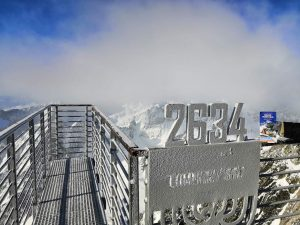 fotka zimna turistika letak