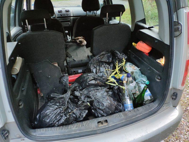 odpad z prirodnych zachodov_tretina cesty na Popradske pleso