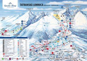 tatranska lomnica zjazdovky mapa