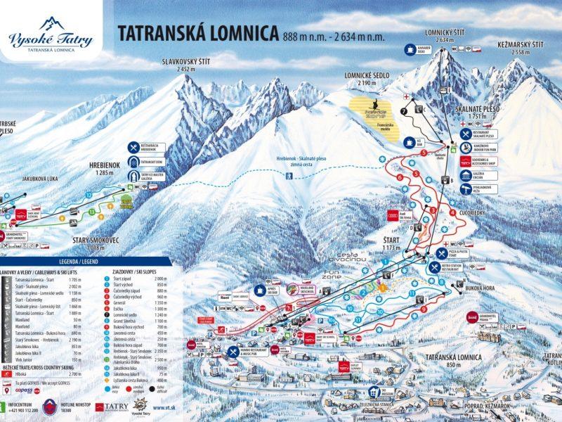 mapa-vysoke-tatry-tatranska-lomnica