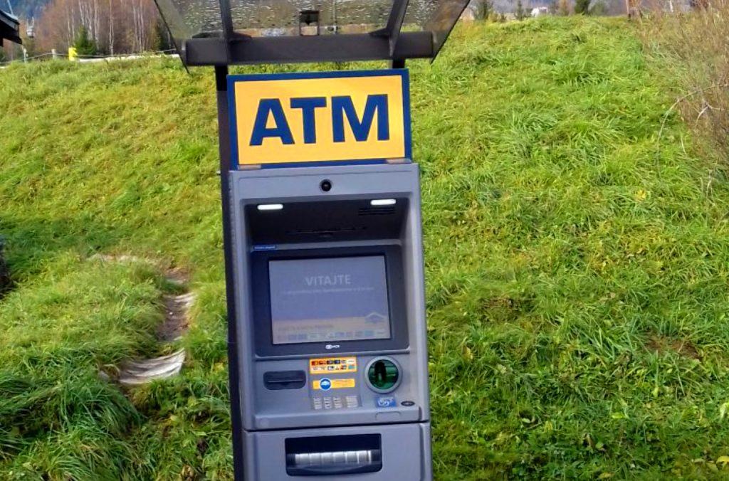 bankomat tatranska lomnica atm euronet tatry