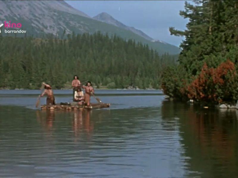 Indiáni sa plavia po plese