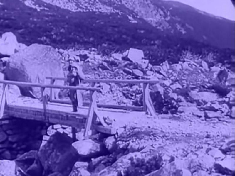 Mostík pri Sliezskom dome