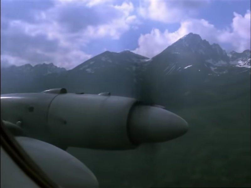 Tatry z lietadla